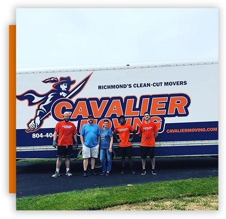 This image shows the Cavalier Moving team.
